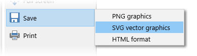 Saving the family tree in SVG format